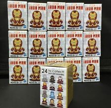 Micro Mugs Iron Man Has to Lot of 16 Unopened Blind Boxes.  NIB