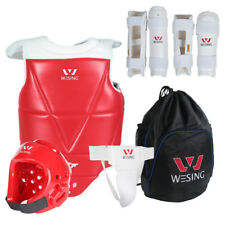 Wesing Taekwondo Sparring protective Gear Sets 6pcs WTF Approved