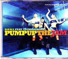 DONS feat Technotronic-Pump Up The Jam cd maxi single
