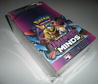 SM Unified Minds SEALED Build & Battle Box Case (10 Decks/Promos w/ 40 Packs)
