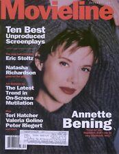 Movieline Magazine December 1994 Annette Bening Eric Stoltz Natasha Richardson
