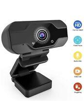 Homga Webcam 1080P, HD Webcam USB Desktop and Laptop Webcam Zoom