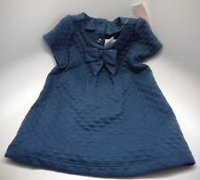 New With Tags Baby Girl Blue Dress & Diaper Cover 3-6 months Gymboree