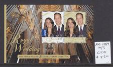 2011  ROYAL WEDDING SHEETLET  CTO/USED  ASC 2889MS