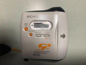 Sony MZ-S1 Net MD Sports Walkman MiniDisc Player Recorder G-Protection Portable