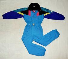SERGIO TACCHINI Ski VTG 90s Mens All in One Thermal Ski Suit,IT46/M,UK36,multic