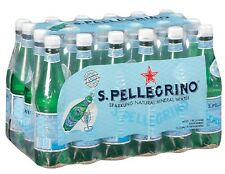 S.Pellegrino Sparkling Natural Mineral Water 0.5 L bottles, 24 ct - NEW