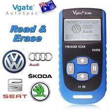 2017 Vgate Scan VS450 OBD2 OBDII Code Erase+Reader Scaner Tool for VW AUDI SKODA