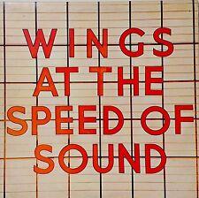WINGS~AT THE SPEED OF SOUND~PAS 10010~+INNER~1976 UK VINYL LP