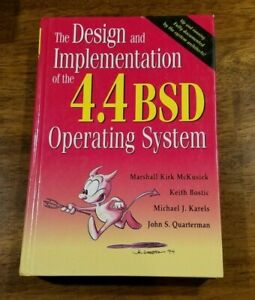 Design and Implementation of the 4.4 BSD Operating System Hardcover