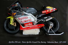 Aprilia 250 V. Rossi World Champion 1999 Minichamps 122990086 Miniature