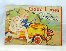 1924 Metal Pedal Car Advertising Gendron Steelcraft Go-Along Item LOOK!