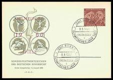 GERMANY MK 1960 OLYMPICS OLYMPIA OLYMPIC GAMES CARTE MAXIMUM CARD MC CM cy20