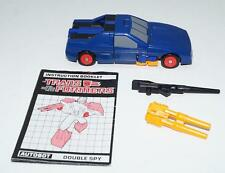 Punch Counterpunch ~ 100% Complete 1987 G1 Transformers Action Figure W MANUAL