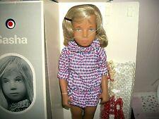 Sasha Dark Blonde Hair Harlequin 184A Doll LE w/Box/COA/Guitar/Hat