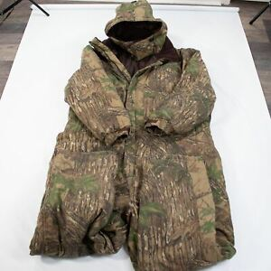 Cabelas Outdoor Gear Camo Insulated Coveralls Mens 5XL Tall Realtree Hooded