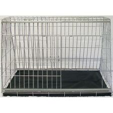 "PET WORLD 36"" Sloped transport  crate car dog cage carrier dog puppy pet"