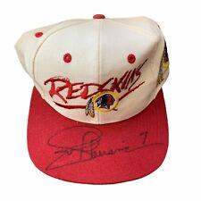Joe Theismann signed Washington Redskins Hat / Cap