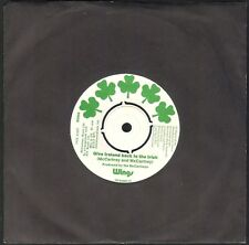 WINGS MC CARTNEY GIVE IRELAND BACK TO THE IRISH 45T SP 1972 QUASI NEUF CENTREUR
