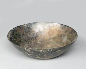 Ancient Persian Achaemenid bronze bowl circa 750 BC.