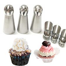 3pcs Icing Piping Nozzle Sugarcraft Düsen Kuchen Dekoration Pastry Cake Tools