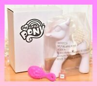 ❤️NEW My Little Pony MLP G3 White Blank Pony Custom Design Decorate Your Own❤️