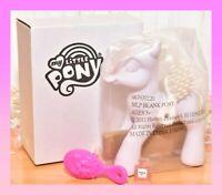 ❤️NEW My Little Pony MLP G3 White Blank Pony Custom Design Decorate Your Own❤️