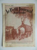 Revista Semanal El Petit Journal Granja Carne Maremane N º 1850 Diciembre 1931