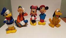 Disney Plastic 0-18mon toys Mickey & Minnie Mouse Donald Duck Pluto Goofy lot