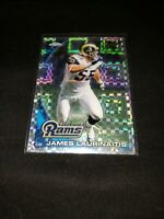 James Laurinaitis 2010 Topps Checkerboard Refractor Rams *PWE*