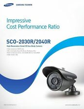 SAMSUNG SCO-2040R CCTV BULLET CAMERA 650TVL COMPATIBLE WIT SWANN PRO-735 PRO-535