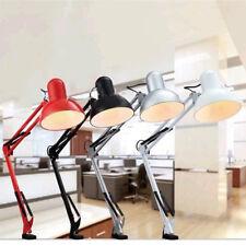 Flexible LED Table Lamp Adjustable Folding E27 Office Bedside Reading Desk Light