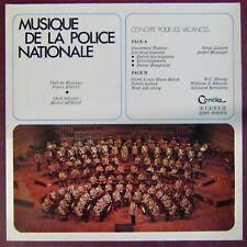 Musique de la Police Nationale 33 tours Concert pour les vacances