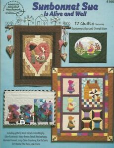 Sunbonnet Sue Is Alive and Well Quilting Book  17 Patterns ASN  Marti Michell