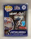Robert O'Neill Signed Navy SEAL Team 6 Bin Laden FUNKO Pop Captain America PSA