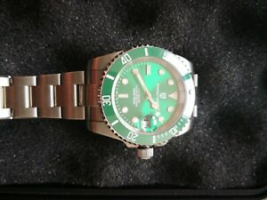 Pagani Design Stainless Steel automatic diver seamaster Green Hulk Watch