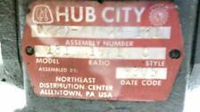 Hub City Worm Gear Drive Model 181 (H5-3)