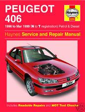 Haynes Peugeot 406 1.6-2.0 Petrol 1.9 2.1 Turbo Diesel 1996-1999 Manual 3394 NEW