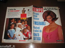 RIVISTA TEMPO 1965/17=CLAUDIA CARDINALE=ALEXEI LEONOV=NINO BENVENUTI=MIGNONE C.=
