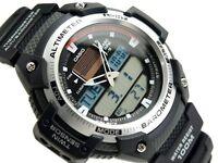 Мужские часы Casio SGW-400H-1B Женские часы Swiss Military Hanowa 06-7296.04.007