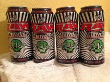 WWE RAW ATTITUDE SOCKO ENERGY DRINK CAN RARE EMPTY 16 OZ CAN 2007 WRESTLING