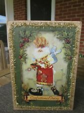 Mark Roberts - Confectioner Fairy Gold Christmas Box Empty