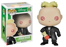 FUNKO POP DISNEY WHO FRAMED ROGER RABBIT #105 JUDGE DOOM~RARE VINYL~FAST POST !!
