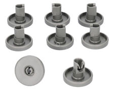 (pkt 8) Dishwasher Bottom Lower Basket Wheels For Blanco AEG ATAG 50286965-00/4