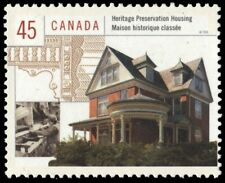 """CANADA 1755d - Housing in Canada """"Heritage Preservation"""" (pa90917)"""