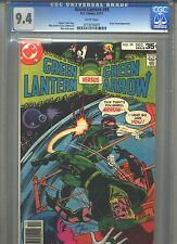 Green Lantern #99 CGC 9.4 (1977) Mike Grell Green Arrow White Pages