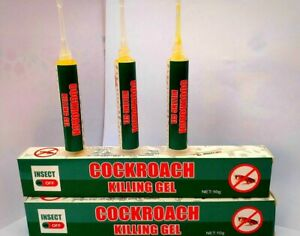 10 gr INSECT OFF cockroach killer gel bait Highly effective RESULT IN DAYS