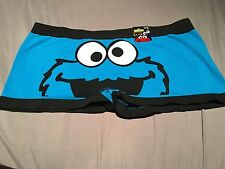 Cookie Monster Boy Short Underwear NWT Sz S Free Shipping Seamless