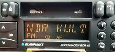 Autoradio Blaupunkt Kopenhagen RCR 45 Oldtimer Youngtimer  Kassetten RDS