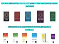 Dar as Sunnah Classic Collection Work by (Ibn Qayyim Al-Jawziy & Ibn al Jawzi)
